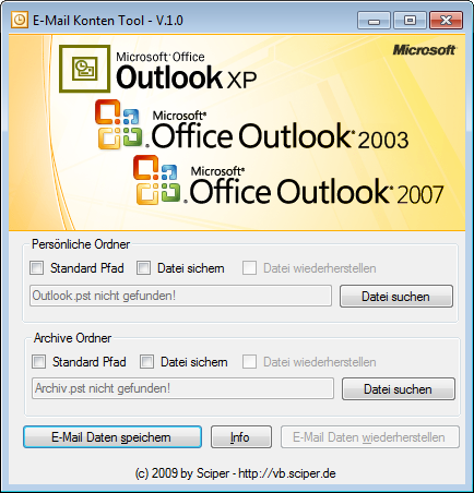 Outlook Tool 001